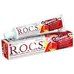 Рокс тинс зубная паста для школьников вкус активного дня кола-лимон 74г