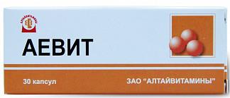 Аевит 30 шт. капсулы