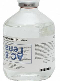 Аминостерил н-гепа 500мл 10 шт. раствор для инфузий