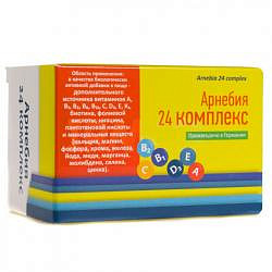 Арнебия 24 комплекс таблетки 1,45г 100 шт.