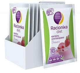 Рационика диет коктейль клубника 25г 10 шт.