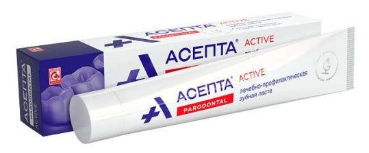 Асепта актив зубная паста 75мл, фото №1