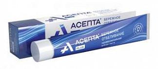 Асепта плюс зубная паста бережное отбеливание 75мл