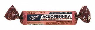 Аскорбинка таблетки жевательные черная смородина 3г 10 шт. крутка