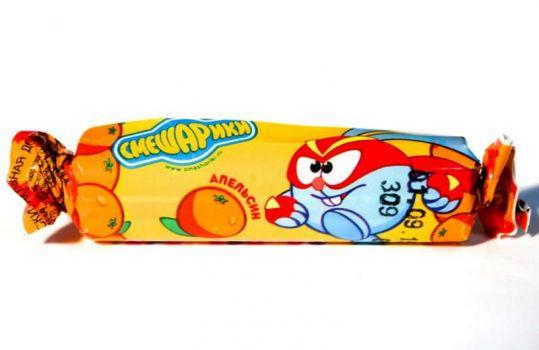Аскорбинка смешарики таблетки жевательные апельсин 3г 10 шт. крутка, фото №1