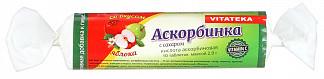Витатека аскорбинка таблетки 25мг с сахаром яблоко 2,9г 10 шт.