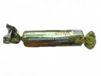 Аскорбиновая кислота эко таблетки с сахаром яблоко 10 шт. крутка