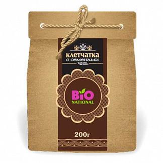 Бионейшнал ваше здоровье клетчатка с семенами чиа 200г эко-упаковка