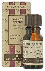 Ботаника масло эфирное чайное дерево 10мл