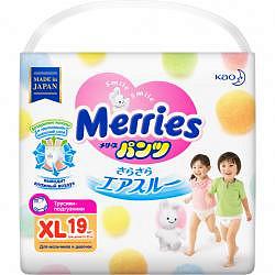 Меррис подгузники-трусы размер xl 12-22кг 19 шт.