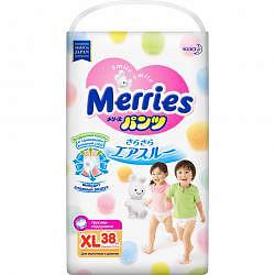 Меррис трусики-подгузники xl 12-22кг 38 шт.