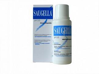Саугелла дермоликвидо мыло жидкое для интимной гигиены 250мл