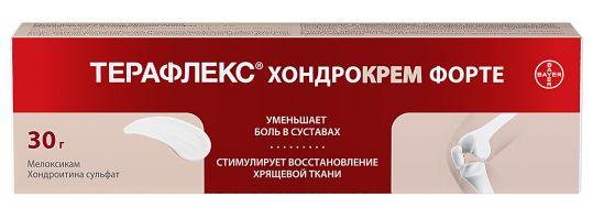 Терафлекс хондрокрем форте 1%+5% 30г крем для наружного применения, фото №1