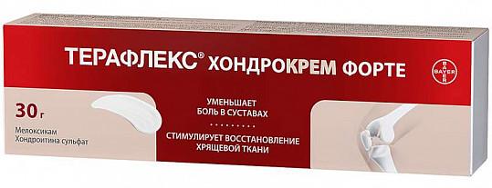 Терафлекс хондрокрем форте 1%+5% 30г крем д/наружного применения, фото №3