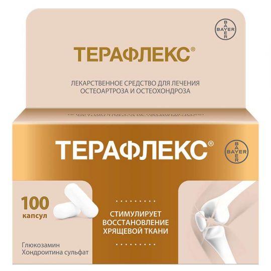 Терафлекс 100 шт. капсулы, фото №1