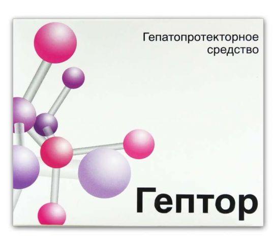 Гептор 400мг 40 шт. таблетки покрытые кишечнорастворимой оболочкой, фото №1