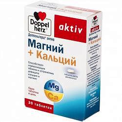 Доппельгерц актив mg+ca 30 шт. таблетки