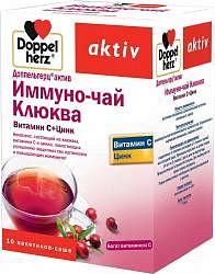 Доппельгерц актив иммуно-чай клюква/цинк 10 шт. саше