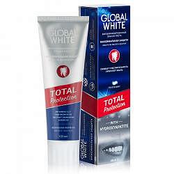 Глобал вайт зубная паста витаминизированная 100мл