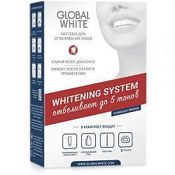 Глобал вайт система для интенсивного отбеливания зубов 6%