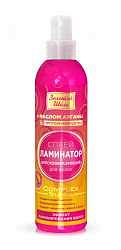 Золотой шелк спрей для волос ламинатор блескообразующий 300мл