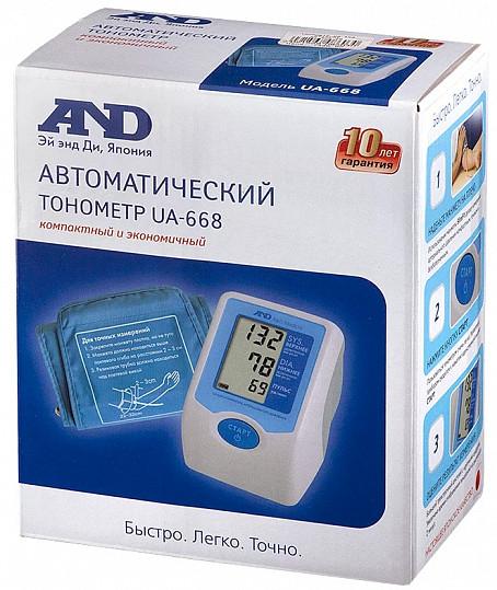 Анд тонометр автоматический ua-668 без адаптера, фото №2