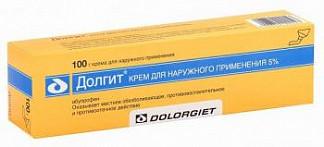 Долгит 5% 100г крем для наружного применения