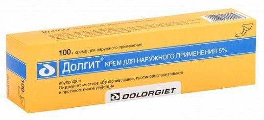 Долгит 5% 100г крем для наружного применения, фото №1