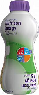 Нутризон энергия смесь д/энтерального питания 0,5л