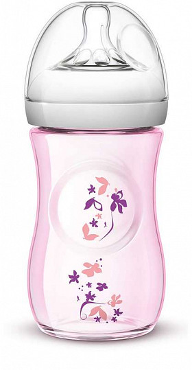 Авент натурель бутылочка для кормления медленный поток с 1 месяцев (scf620/17) / (scf033/17) 260мл, фото №3