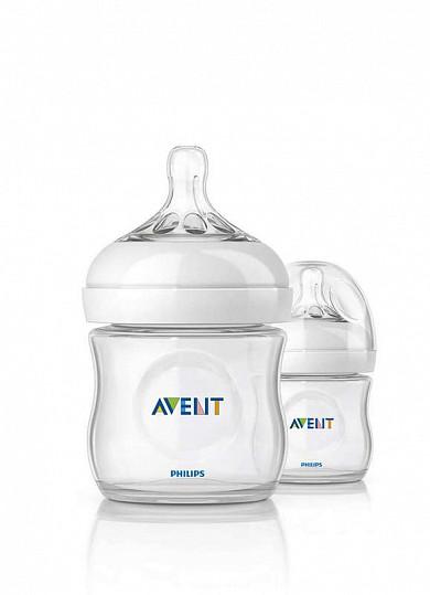 Авент натурель набор для новорожденных 2 бутылочки 125мл + 2 бутылочки 260мл + пустышка + щеточка для мытья бутылочек и сосок 86105 (scd290/01), фото №7