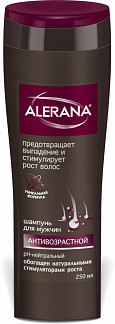 Алерана шампунь для мужчин антивозрастной 250мл