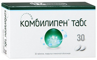 Комбилипен табс 30 шт. таблетки покрытые пленочной оболочкой