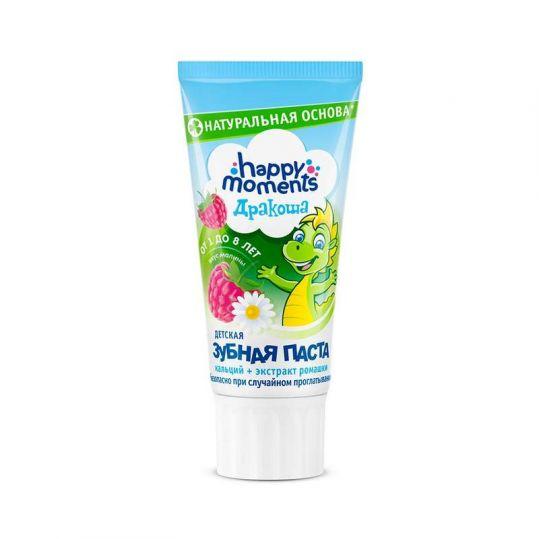 Дракоша зубная паста для детей гелевая малина 60г, фото №1