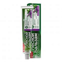Лесной бальзам зубная паста шалфей/алоэ 75мл