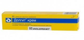 Долгит 5% 50г крем для наружного применения