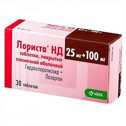 Лориста нд 30 шт. таблетки