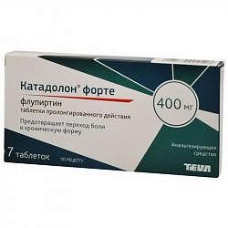 Катадолон форте 400мг 7 шт. таблетки