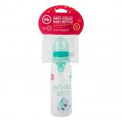 Хеппи бэби бутылочка для кормления антиколиковой с силиконовой соской арт.10015 250мл