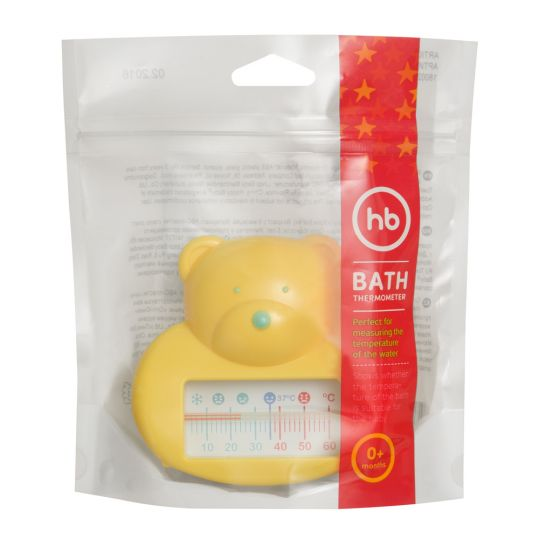 Хеппи бэби термометр для воды жёлтый 0+ арт.18002, фото №1