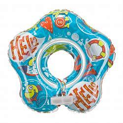 Хеппи бэби круг на шею для плавания музыкальный dolfy 3+ арт.121006