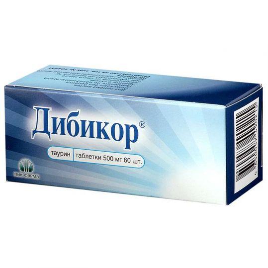 Дибикор 500мг 60 шт. таблетки пик-фарма, фото №1