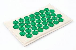 ИППЛИКАТОР КУЗНЕЦОВА (ТИБЕТСКИЙ) коврик зеленый малый (12х22см)