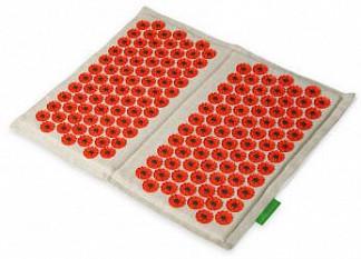 Иппликатор кузнецова (тибетский) коврик красный для ступней