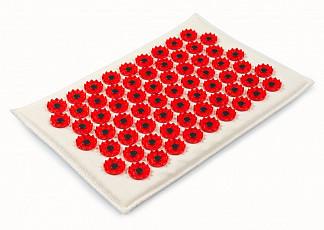 Иппликатор кузнецова (тибетский) коврик красный малый (17х28)