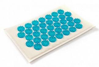 Иппликатор кузнецова (тибетский) коврик синий малый (12х22см)