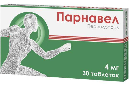 Парнавел 4мг 30 шт. таблетки, фото №1