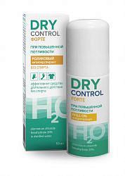 Драй контрол форте н2о без спирта ролик от обильного потоотделения 20% 50мл химсинтез