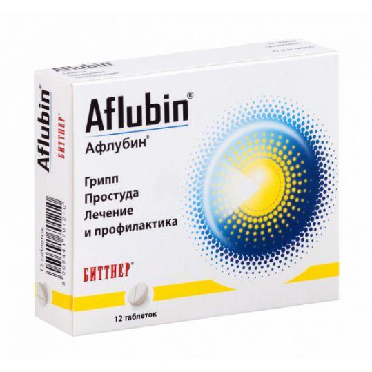 Афлубин 12 шт. таблетки подъязычные, фото №1