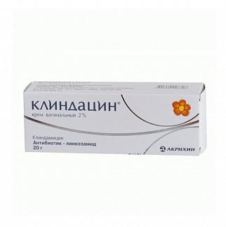 Клиндацин пролонг 2% 20г крем вагинальный